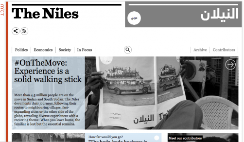 Homepage of The Niles