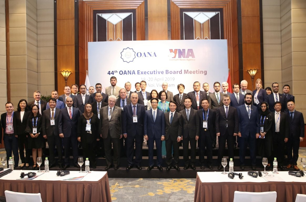 The 44th annual executive board meeting of OANA brought delegates from all over Asia Pacific.