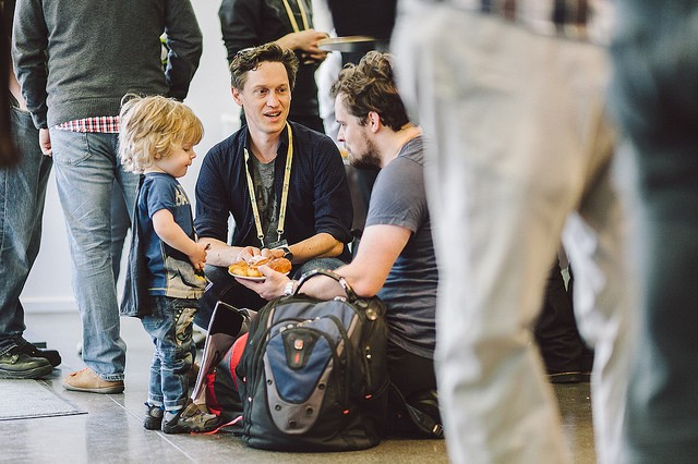 Parents with their children were welcome at DjangoCon 2016 I Photo by Bartek Pawlik (CC BY-NC 2.0)
