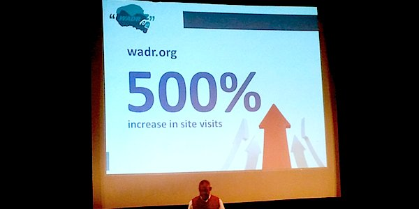 Peter Kahler talks about WADR at Mediafabric 2011.