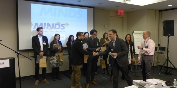 MINDS Hackday Winners from Columbia University @ MINDS Conference