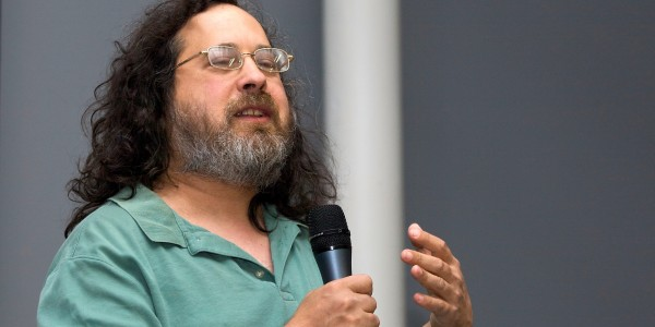 Richard Stallman, a campaigner for