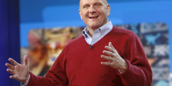 Steve Ballmer, ex-CEO of Microsoft. Compared Linux to