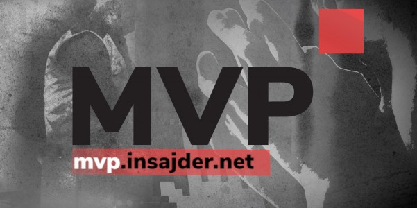 An advertisement for MVP, the new microsite