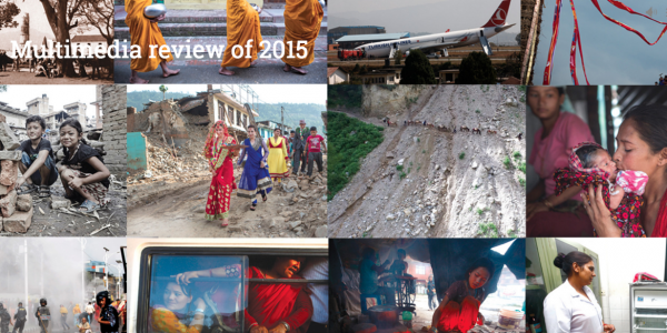 A journey through 2015 as narrated by Nepali Times
