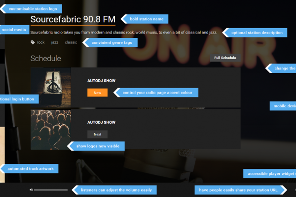 Customise Your Airtime Pro Radio Page