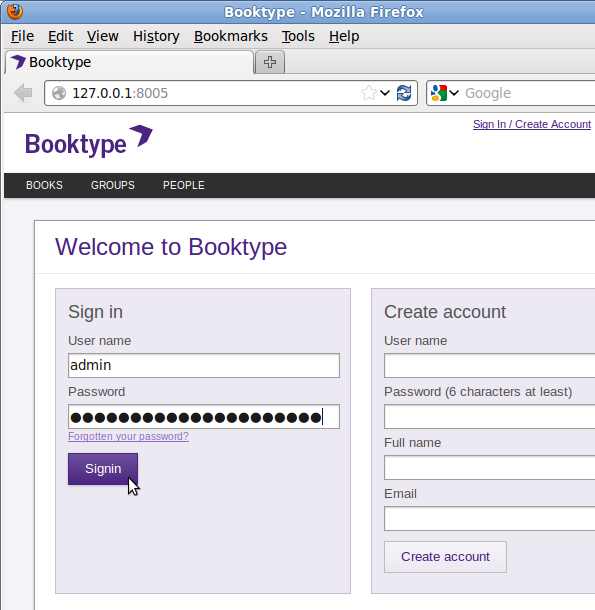 Install your own Booktype server on Ubuntu or Debian